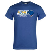 Royal T Shirt-Slanted STMU Rattlers with Rattler