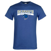 Royal T Shirt-Primary Logo Distressed