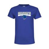 Youth Royal T Shirt-Baseball
