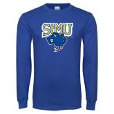 Royal Long Sleeve T Shirt-StMU with Rattler