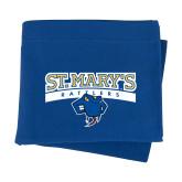 Royal Sweatshirt Blanket-Primary Logo