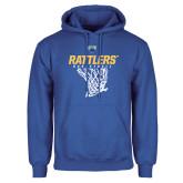 Royal Fleece Hoodie-Rattlers Basketball Hanging Net