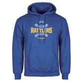 Royal Fleece Hoodie-Rattlers Softball Seams
