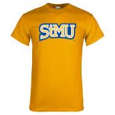 Gold T Shirt-Arched StMU