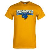 Gold T Shirt-Campus Recreation