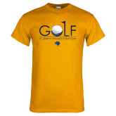 Gold T Shirt-St. Marys Gold Stacked