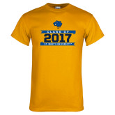 Gold T Shirt-Class Of - Banners, Personalized year