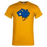 Gold T Shirt-Rattler Head