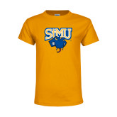 Youth Gold T Shirt-StMU with Rattler