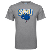 Grey T Shirt-StMU with Rattler