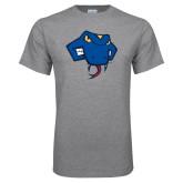 Grey T Shirt-Rattler Head