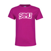 Youth Cyber Pink T Shirt-Arched StMU