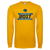 Gold Long Sleeve T Shirt-Class Of - Banners, Personalized year