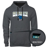Contemporary Sofspun Charcoal Heather Hoodie-Primary Logo