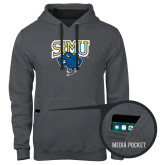 Contemporary Sofspun Charcoal Heather Hoodie-StMU with Rattler