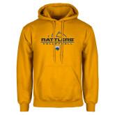 Gold Fleece Hoodie-Rattlers Volleyball Half Ball
