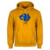Gold Fleece Hoodie-Rattler Head