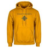Gold Fleece Hoodie-St. Marys University