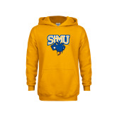 Youth Gold Fleece Hoodie-StMU with Rattler