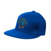 Royal OttoFlex Flat Bill Pro Style Hat-Rattler Head