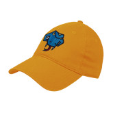 Gold Twill Unstructured Low Profile Hat-Rattler Head