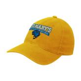 Gold Flexfit Mid Profile Hat-Rattler Nation