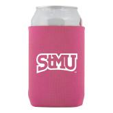 Neoprene Hot Pink Can Holder-Arched StMU