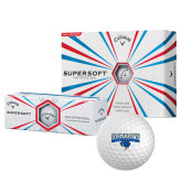 Callaway Supersoft Golf Balls 12/pkg-Primary Logo