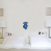 6 in x 1 ft Fan WallSkinz-Peacock