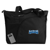 Excel Black Sport Utility Tote-Saint Peters Peacock Nation Banner