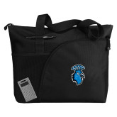 Excel Black Sport Utility Tote-Peacock