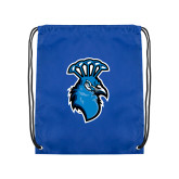 Royal Drawstring Backpack-Peacock