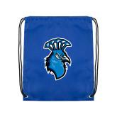 Royal Drawstring Backpack-Peacock