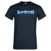 Navy T Shirt-Saint Peters University