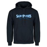 Navy Fleece Hoodie-Saint Peters University
