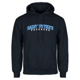 Navy Fleece Hoodie-Arched Saint Peters University