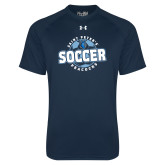 Under Armour Navy Tech Tee-Soccer Circle