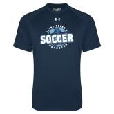 Under Armour Navy Tech Tee-Soccer Circle