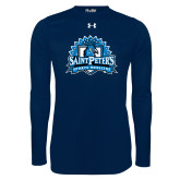 Under Armour Navy Long Sleeve Tech Tee-Sports Medicine