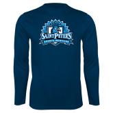 Syntrel Performance Navy Longsleeve Shirt-Sports Medicine