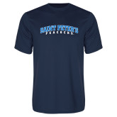 Performance Navy Tee-Arched Saint Peters University