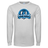 White Long Sleeve T Shirt-Sports Medicine