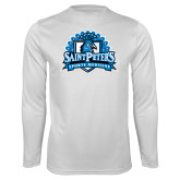 Syntrel Performance White Longsleeve Shirt-Sports Medicine