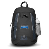 Impulse Black Backpack-Saint Peters Peacock Nation Banner