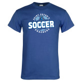 Royal T Shirt-Soccer Circle