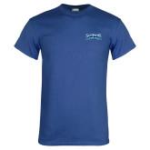 Royal T Shirt-Saint Peters Peacock Nation Banner