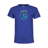 Youth Royal T Shirt-Peacock