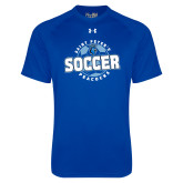 Under Armour Royal Tech Tee-Soccer Circle
