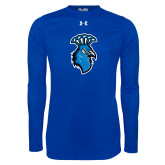 Under Armour Royal Long Sleeve Tech Tee-Peacock