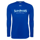 Under Armour Royal Long Sleeve Tech Tee-Saint Peters University